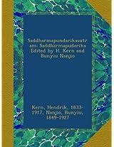 Saddharmapundarikasutram; Saddharmapudarika Edited by H. Kern and Bunyiu Nanjio: 02