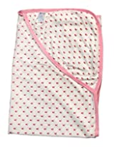 Offspring Hooded Baby Wrap - Pink