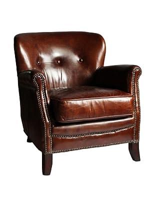 Melange Home Aberdeen Armchair, Vintage Cigar