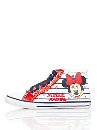 Disney By Gioseppo Zapatillas Bota Minnie (Blanco)