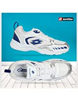 Lotto Thunder Shoes White Silver Blue