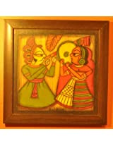 Contemporay Art - Phad paintings - King Pipe Queen Dhafli (CAPP1212KPQD)