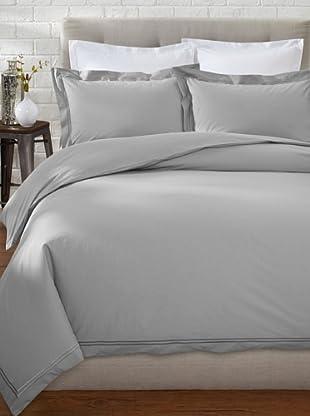 Mason Street Textiles Two Cord Duvet Set (Grey/Grey)
