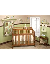Little Bedding by NoJo Dreamland Teddy Uni 10 Piece Crib Bedding Set