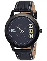 MTV Analog Black Dial Men's Watch - M-3003