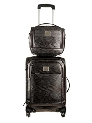 Ines De La Fressange  Set Trolley & Beauty Case Iena (Marrone)