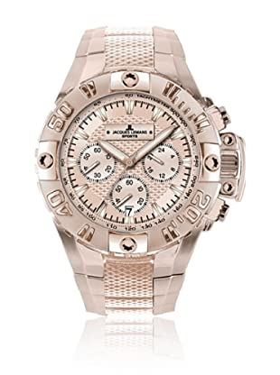Jacques Lemans Quarzuhr Powerchrono 08 1-1377 roségold 44 mm