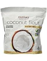 Nutiva Organic Coconut Flour -- 1 lb