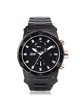 JBW Men's J6285E Black Stainless Steel Watch
