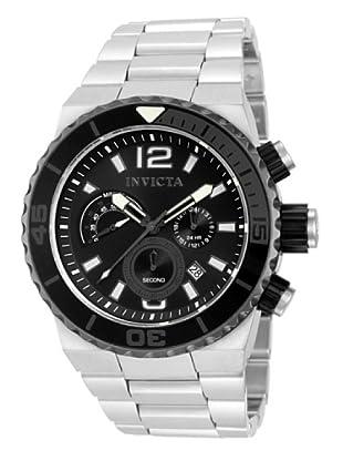 Invicta 12998 - Reloj de Caballero cuarzo metálico Plata
