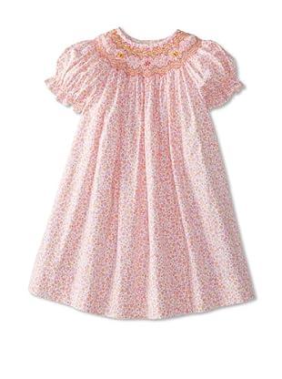 Vive La Fete Kid's Florence Geometric Smocked Dress