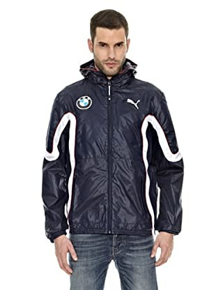 Bmw Chaqueta Windbreaker (Azul)