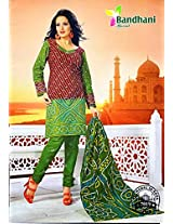 Buyclues Stylish Multicolour Printed Salwar Suit Dress Material Rcc2269