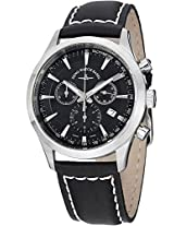 Men'S Gentlemen Black Dial Black Leather (6662-5030-G1)