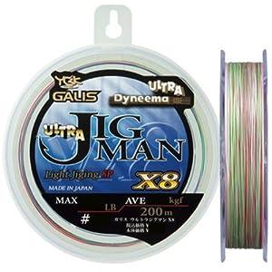 【クリックで詳細表示】Amazon.co.jp | よつあみ(YGK) ライン ウルトラジグマンX8 200m-0.8号 | スポーツ&アウトドア 通販