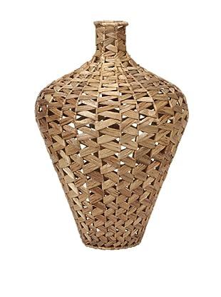 Large Lelei Woven Water Hyacinth Vase
