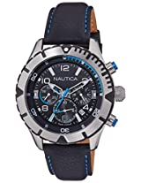 Nautica Sports Chronograph Black Dial Men's Watch - NAI20503G