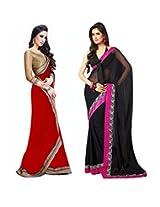 Janasya women's Combos Sarees