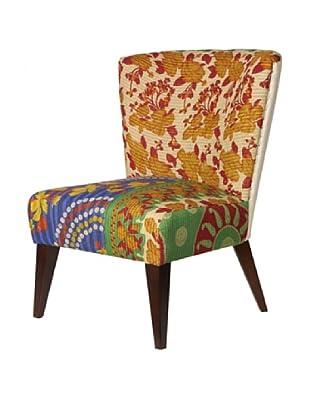 Kantha Arm Chair, Amber Multi