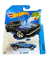 Mattel Hot Wheels 2014 Color Shifters City 43/48 67 Camaro (Black/Blue)