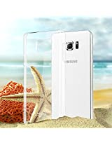 Imak Imported brand Premium quality PC Crystal Air-II Transparent Hard Back Cover for Samsung Galaxy Note 5 Dual SIM