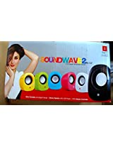 iBall Wave2 2.0 Channel Multimedia Speakers (Yellow)
