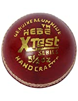 Hebe Cricket Leather Balls (Set of 6) (Series: X Test (Red))