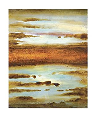 Surya Water Color Scene Wall Décor, Multi, 48