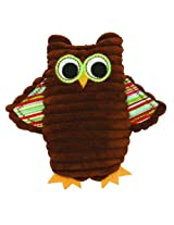 Stephan Baby Cordy Owl Corduroy Rattle, Green (Discontinued By Manufacturer) By Stephan Baby