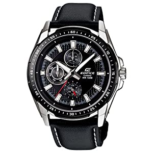 Casio Edifice Analog Black Dial Men's Watch - EF-336L-1A1VDF (ED447)