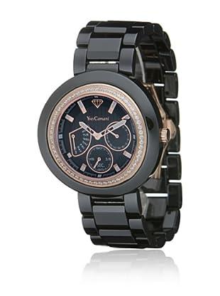 Yves Camani Reloj Toulouse Negro / Oro Rosa