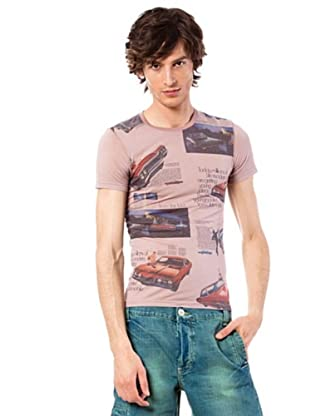 Custo T-Shirt Zen (Rosa)