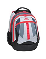 adidas Hickory Backpack White/Red Zest/19 x 14 x 11-Inch AD