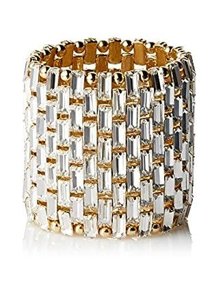 Stella & Ruby Crystal Baguette Stretch Bracelet