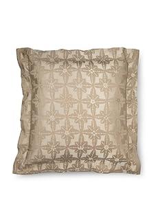 Frette Luxury Edmond Anouk Euro Sham (Stone)