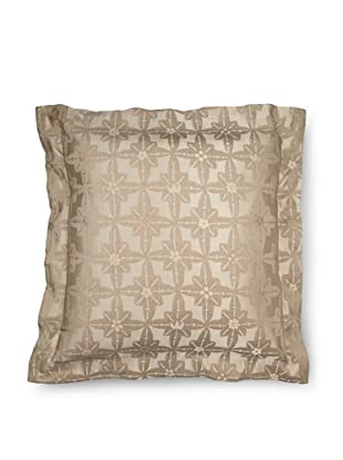 Frette Luxury Edmond Anouk Euro Sham, Stone, 26