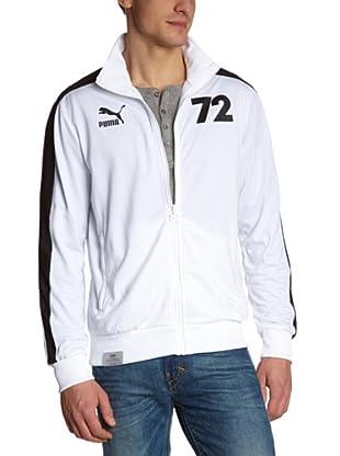 Puma Trainingsjacke Football Archives T7 (white-black-germany)