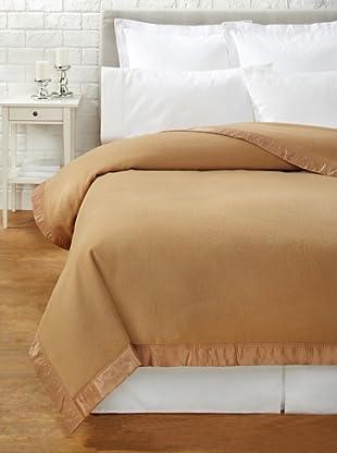 JOHN ATKINSON by Hainsworth Duchess Blanket (Camel)