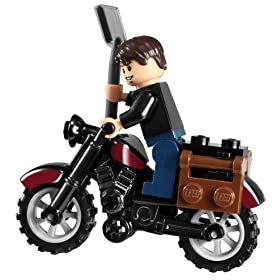 レゴインディージョーンズの乗るバイク