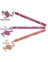Color Fever Lip Liner Budget Pack