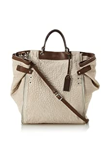 Gryson Women's Mabel Convertible Textured Tote, Latte