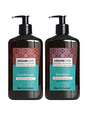 ARGANICARE Kit Capilar 2 Piezas For Dry & Damaged Hair