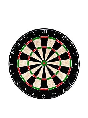 Trademark Games Champion Tournament Bristle Dartboard, Black/Red/White