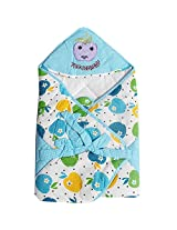 Baby Wrap - Baby Blanket - Blue