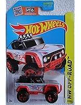 Hot Wheels, 2015 Off-Road, Custom Ford Bronco [Silver/Red] Die-Cast Vehicle #121/250