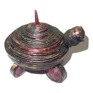 NUCreations Paper Made Feng Shui Tortoise With Container
