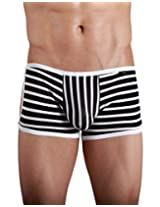 Xuba Black & White Stripes Boxer