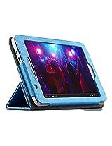 Premium Flip case cover for Asus Fonepad FE171 Tablet (Blue)
