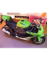 Maisto Kawasaki Ninja ZX-10R,scale 1:12 in Green-Black