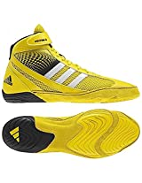 Adidas Response 3.1 Mens Wrestling Shoes bright yellow/white/black 16